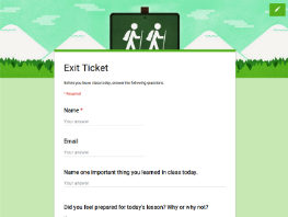 An Interesting Collection of Google Forms for Teachers