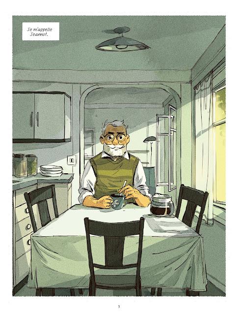 """page de """"LEs contes des coeurs perdus T4 Jeannot"""" par Loic Prigent et Carole Maurel chez Delcourt"""