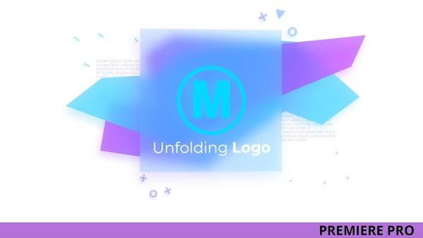 Unfolding Logo - Premiere Pro Templates   Motionarray 134043
