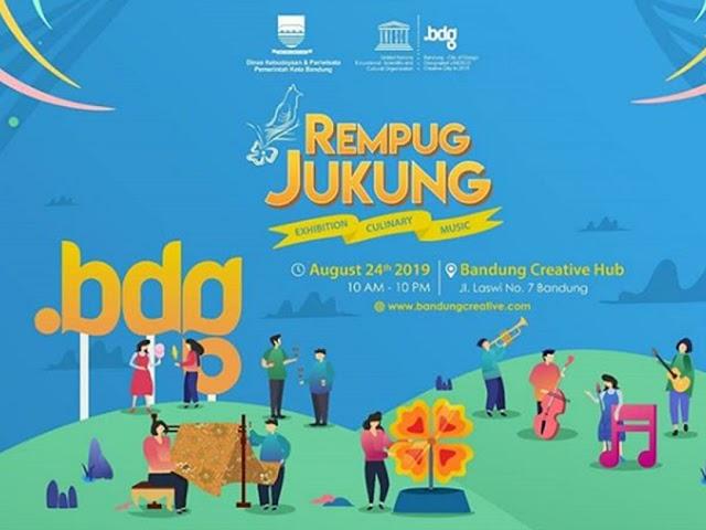 Risa Saraswati Bakal Tampil di Event Rempug Jukung Bandung Creative Expo 2019