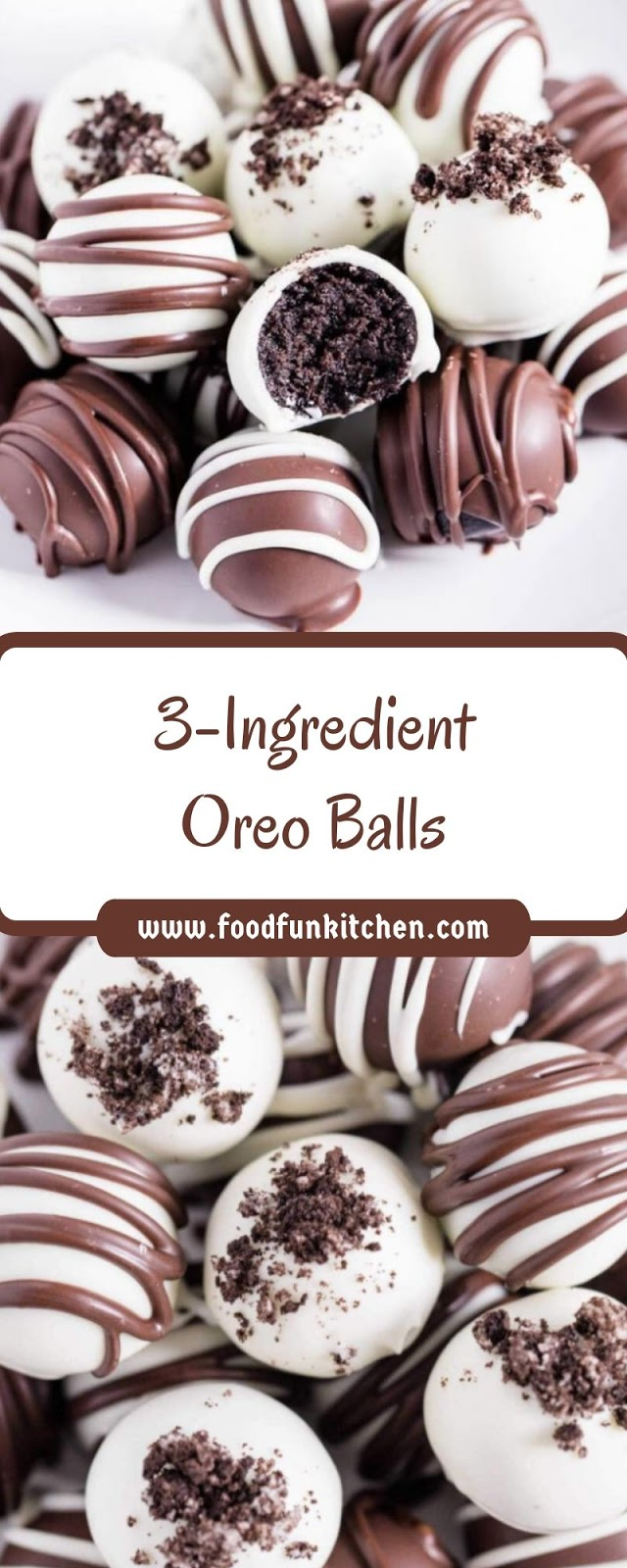 3-INGREDIENT OREO BALLS