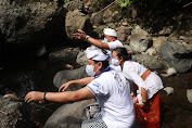 Mulang Pekelem di Pura Pegubugan Agar Pandemi Covid Berahir