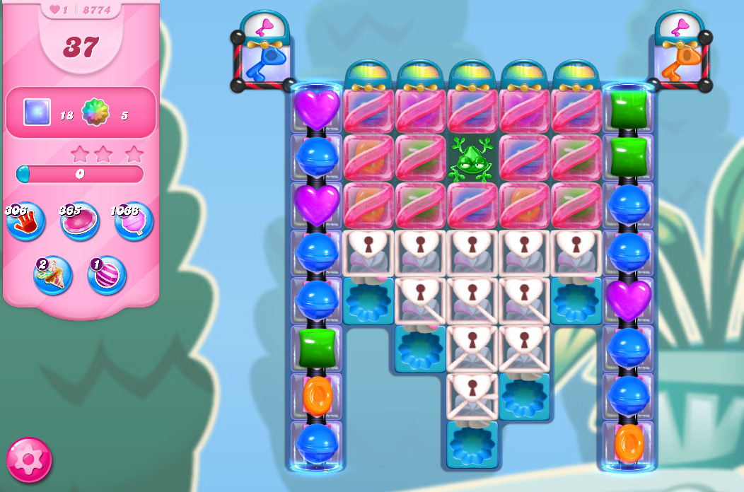 Candy Crush Saga level 8774