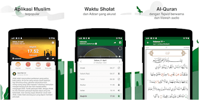 Aplikasi pengingat waktu sholat - 1