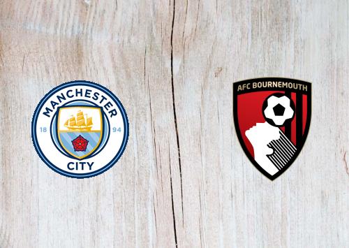 Manchester City vs AFC Bournemouth -Highlights 15 July 2020