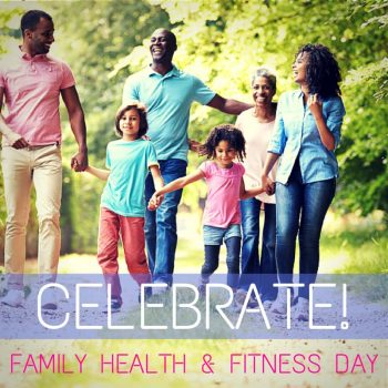 Family Health & Fitness Day USA Wishes Beautiful Image