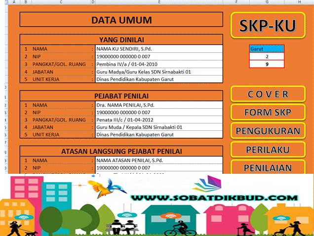 Download Aplikasi SKP Kepala Sekolah dan Aplikasi Cetak Kartu NRG Terbaru