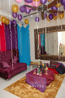 8e743dab294 The overall color theme of this Arabian Night is created with rich and  vibrant hues of purples