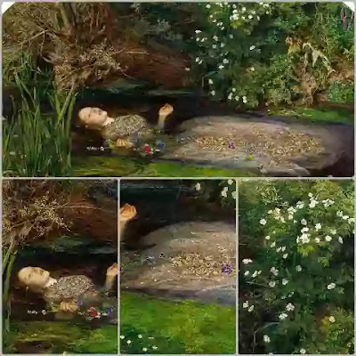 The Pre-Raphaelite movement began in 1848 as an organisation of painters who called themselves Pre-Raphaelites.