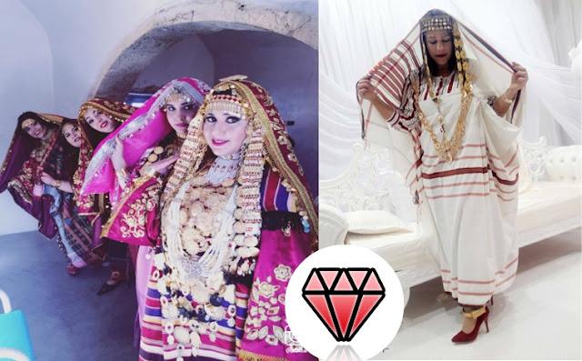 لباس المراة التقليدي جربة تونس