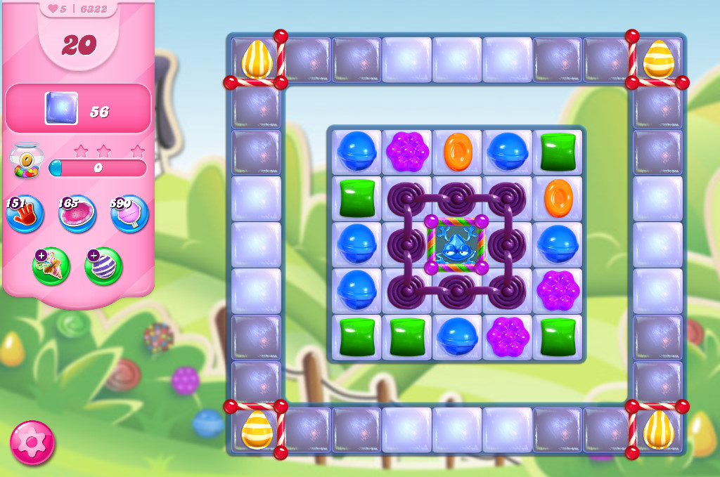 Candy Crush Saga level 6322