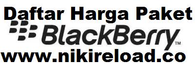 Daftar Harga Paket Blackberry Terbaru Termurah Niki Reload