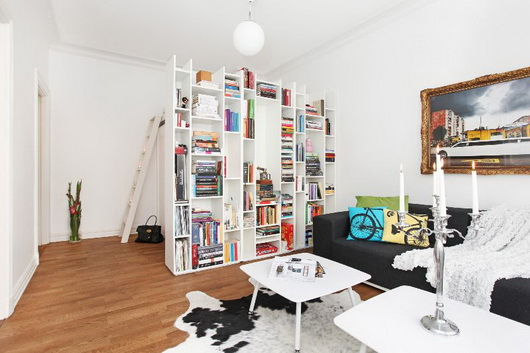 Seaseight design blog reader request teeny tiny for Arredare libreria