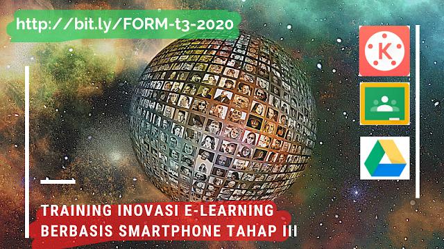 Daftar Peserta Tetap Training Online Inovasi E-learning Berbasis Smartphone Tahap III-2020