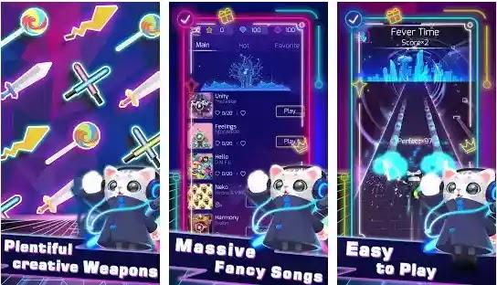 Sonic Cat - لعبة إيقاع جديدة على Android