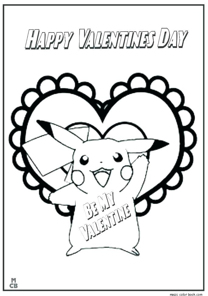 Fun Valentine Coloring Sheets