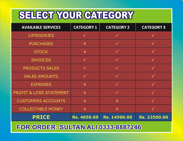 Shani's Business Invoice Software Powered by Sultan Ali