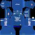 Kit DLS Persib Bandung 2020 Shopee Liga 1 - Kit Dream League Soccer 2019 | Update DLS 2020