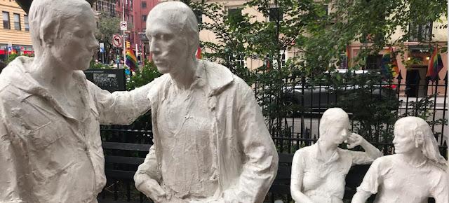 Monumento a la liberación homosexual en una calle de Nueva York.ONU/Sarah Scaffidi