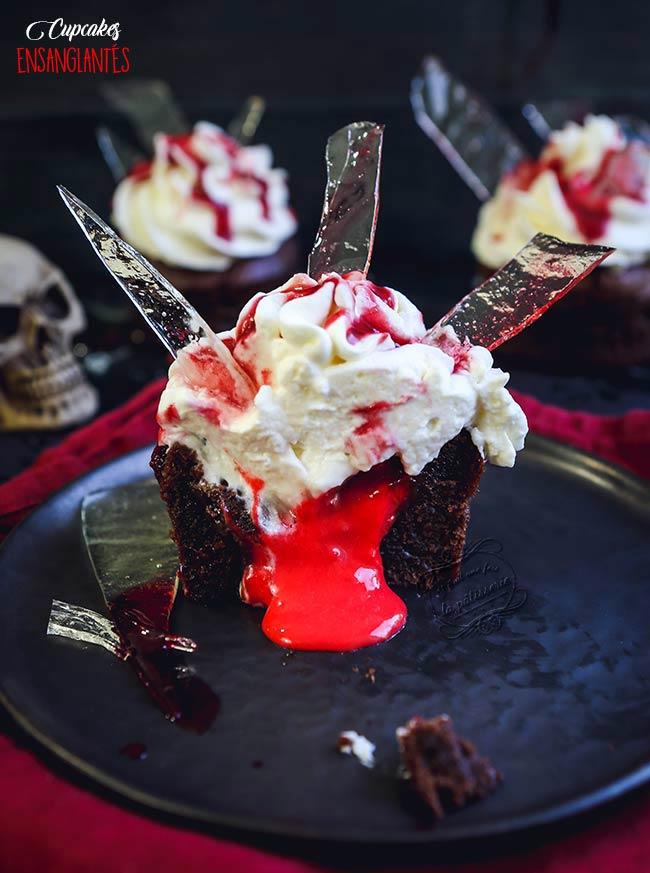 Cupcakes recette halloween