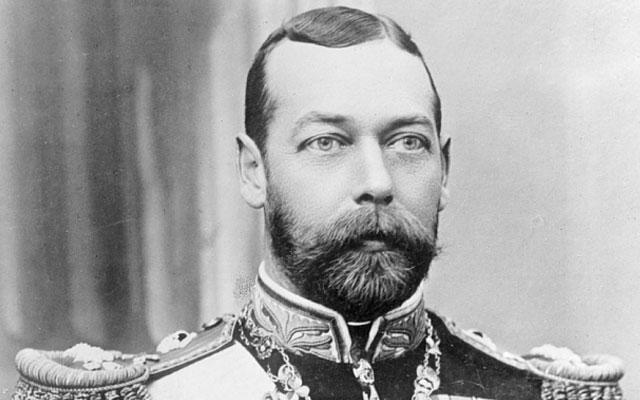 George V Perangko