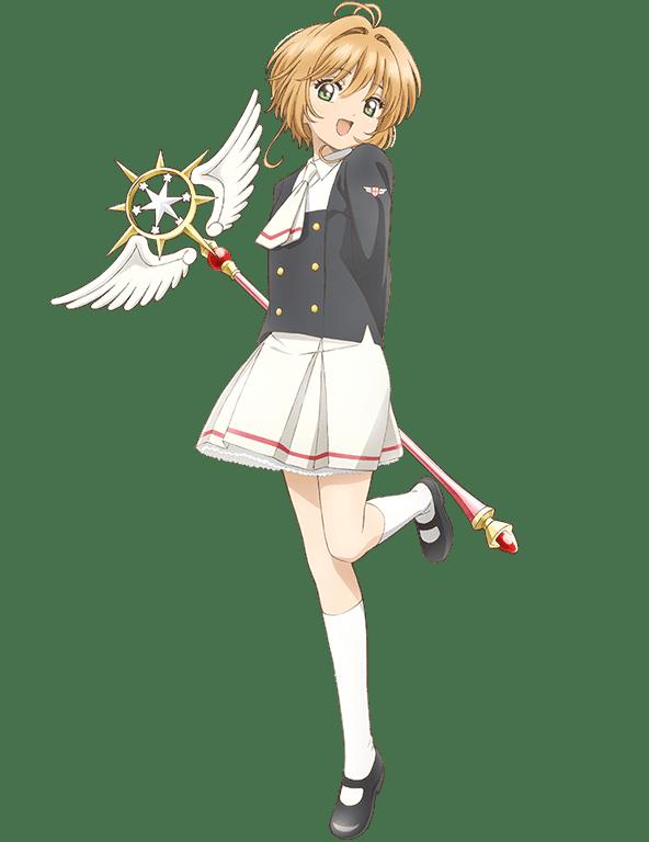 Sakura Tange como Sakura Kinomoto