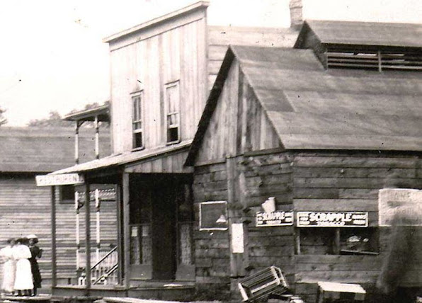 """Downtown"" Betula in its heyday, circa 1915"