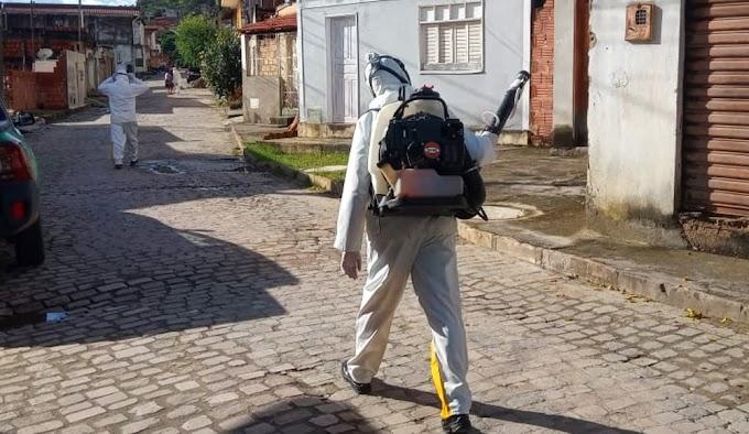 Prefeitura de Jacobina reforça as ações diárias de combate ao mosquito da dengue