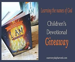 Children's Devotional Giveaway