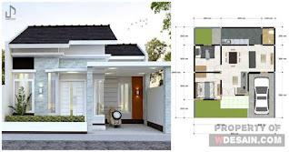 Desain Rumah Sederhana Tapi Mewah Terpopuler 2020
