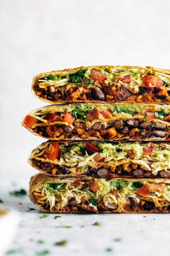Vegan Crunchwrap Supreme - Food Inspiration Healthy