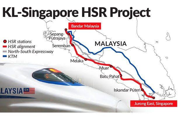 Resmi, Malaysia dan Singapura Batalkan Proyek Kereta Cepat Rp 237 Triliun