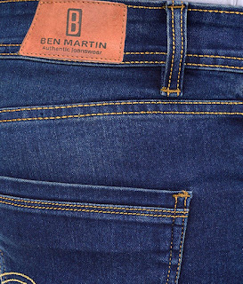 Ben Martin Men's Denim Regular Fit Jeans