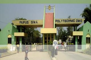 Rufus Giwa Polytechnic Admission form