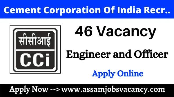 Cement Corporation Of India (CCI) Recruitment 2021