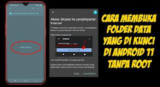 Cara Membuka Folder Data Di Android 11 Tanpa Root