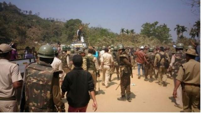 असम-मिजोरम सीमा विवाद: दो राज्यों के बीच यातायात अब भी बंद, आखिर कब हटेगी नाकेबंदी?