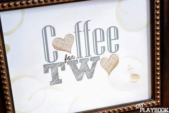 Coffee for two printable