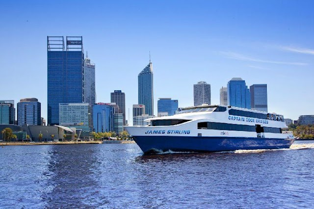 Swan River Lunch Cruise from Fremantle or Perth Offers online