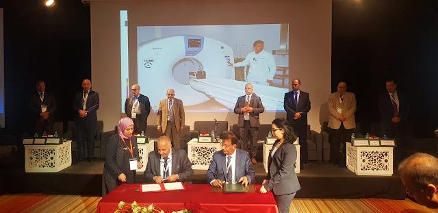 التعاضدية العامة للتربية الوطنية توقع اتفاقية شراكة مع مستشفى الشيخ  الشيخ زايد