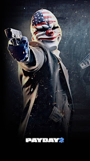 PayDay 2 Mobile HD Wallpaper