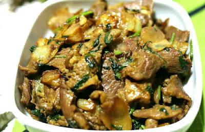 Resepi Daging Masak Ketumbar
