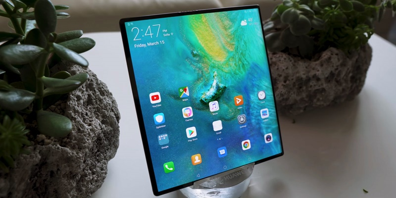 Huawei mate x-latest smartphone