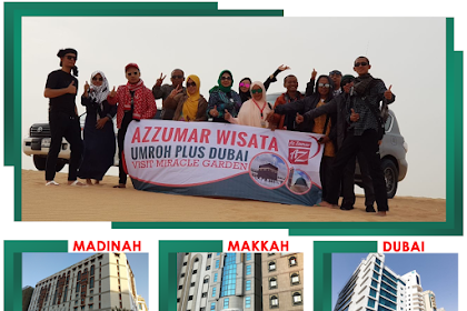 Paket Umroh Plus Dubai 12 Hari bulan April 2019