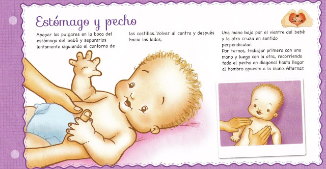 Masajes para los bebes y su beneficio