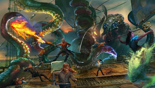 Reseña D&D - Fantasmas de Saltmarsh - Kraken