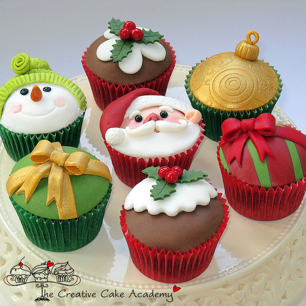 Cupcake Cake Ideas: Cute Food For Kids?: 41 Cutest And Most Creative Christmas