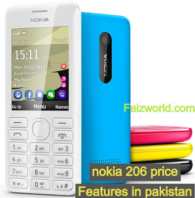 Nokia 206 Price in Pakistan 2020 - Nokia 206 features specifications Price