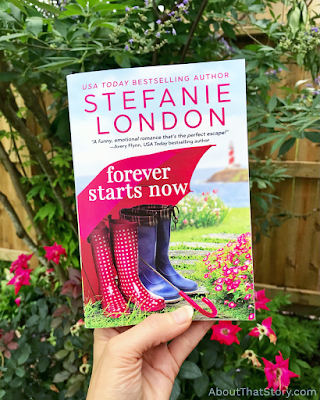 Book Review: Forever Starts Now by Stefanie London + Excerpt | About That Story