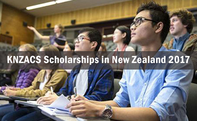 Korea New Zealand Agricultural Cooperation Scholarships in New Zealand 2017
